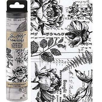 Advantus Tim Holtz Collage Papir Botanisk (6yards) (TH93705)