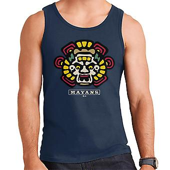 Mayans M.C. Motorcycle Club Face Colour Logo Emblem Men's Vest