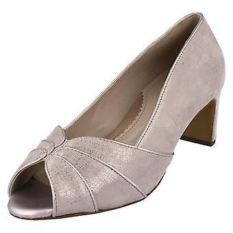 Senhoras Van Dal Peep Toe Sapatos da Corte Tomlin