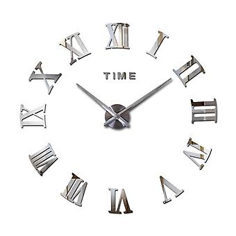 Modern 3d Acrylic Diy Quartz Watch Still Life Clocks Home Decoration Stickers