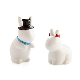 Rude Bunnies Salt & Pepper Set
