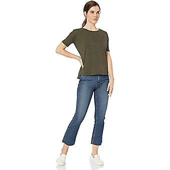 Marke - Daily Ritual Women's Lightweight Lived-In Cotton Short-Sleeve ...