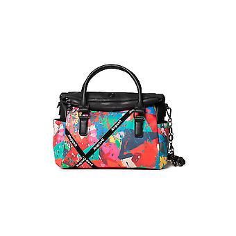 Desigual Arcadian Loverty Bag Arty Splash Print Sling Design 20WAXP90
