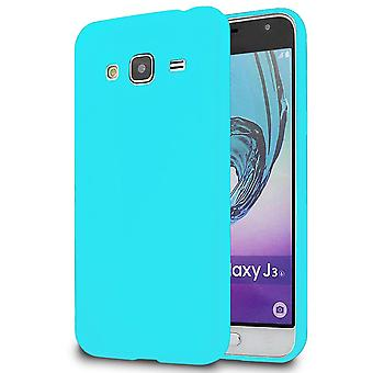 Soft Thin Mobile Protection pour Samsung Galaxy J3 (2016) Téléphone Solid Colored Silicone