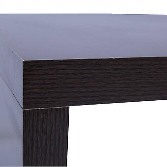 Rebecca Furniture Table Table Low Brown Wood Modern Style 31x100x50
