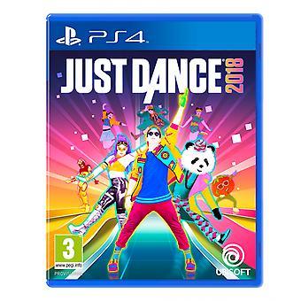 Just Dance 2018 PS4-peli