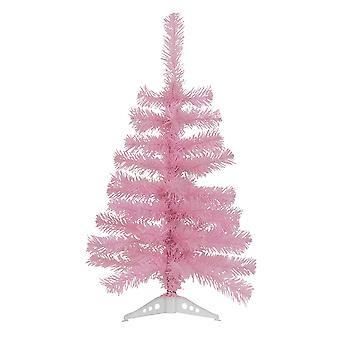 2ft Artificial Christmas Tree with Stand - Pink Pine Spruce