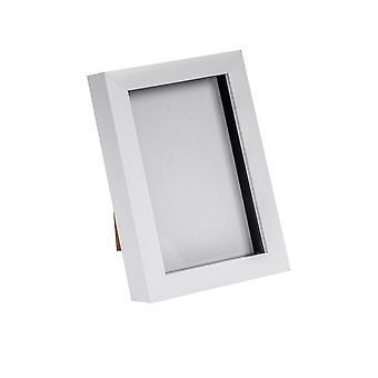Nicola Frühling weiß 4 x 6 Box Fotorahmen - stehend & hängend