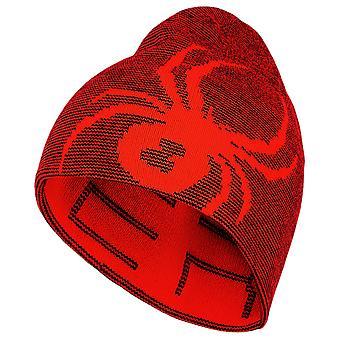 Spyder MINI REVERSIBLE BUG Toddlers Ski Hat Red