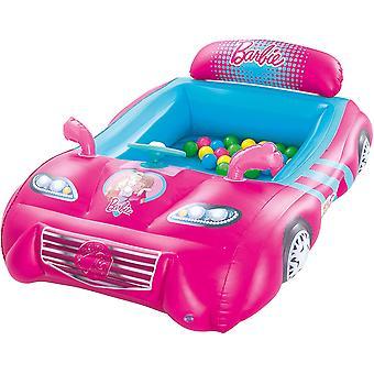 Bestway Barbie Children's Opblaasbare Sportwagen Ballenbak