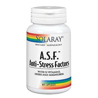 Solaray A.S.F. Stressinvastaiset tekijät, 60 korkkia