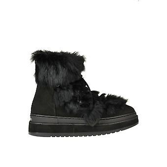 Altraofficina Ezgl575001 Women's Stivali alla caviglia in suede nero