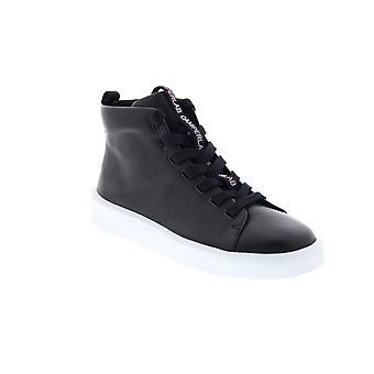 Camper Courb Kvinders sort læder lace up Euro Sneakers sko