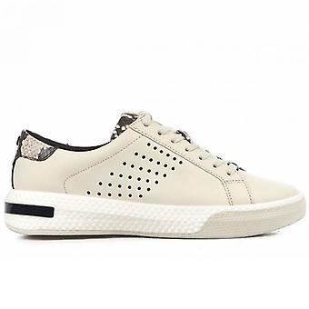 Sneakers Michael Kors Codie Cream Cu Python Print