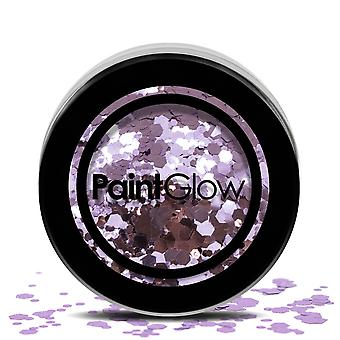 PaintGlow (chgr05) Chunky Cosmetic Glitter: Helter Skelter 3g