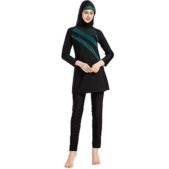 Muslimah Swimsuit Long Sleeve Swim Beach Surf Wear Sport Burkinis, Islamique