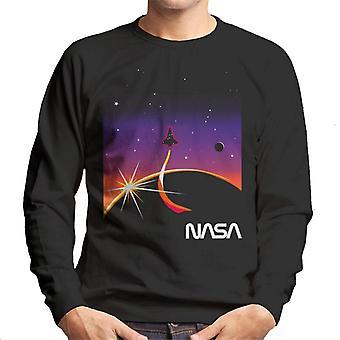 NASA Galactic Take Off Men's Felpa