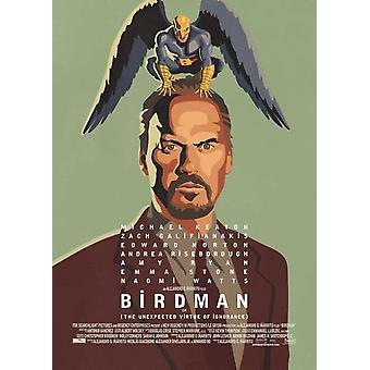 طباعة ملصق فيلم بيردمان (27 × 40)