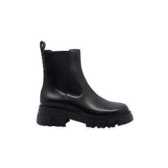Ash Lloyd01 Kvinnor & apos;s svart läder ankelstövlar
