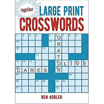 Ingenious Large Print Crosswords (Ingenious Puzzles & Dot-To-Dots)