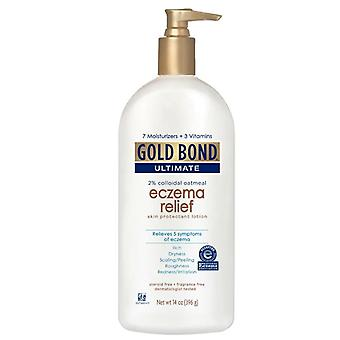 Gold bond ultimate eczema relief lotion, fragrance free, 14 oz