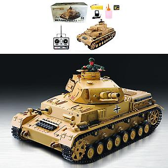 Heng Long RC Tank 1:16 BattleCar IV Ausf-F-1, rök, ljud, shot funktion