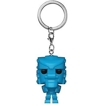 Import af Mattel-Rockemsockemrobot (Blå) USA