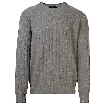 Ralph Lauren 710775749003 Mænd's Grey Cashmere Sweater