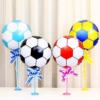 Ballons de football et d'hélium