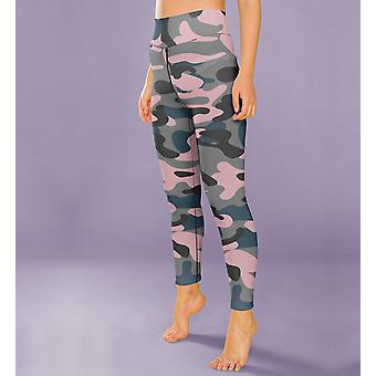 Camo Leggings Capris ja shortsit