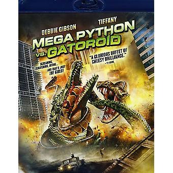 Mega Python vs. Gatoroid [BLU-RAY] USA import