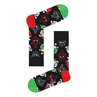 Happy Socks Psychedelic Candy Cane Socks 4 Pack Gift Set - Multi