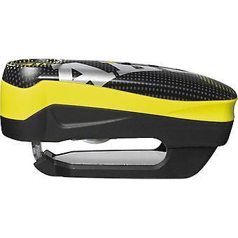 Abus Detecto 7000 RS 1 Bike 110db Alarm Pixel Yellow Disc Lock