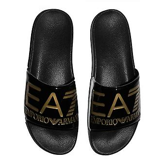 EA7 Patent Musta ja kultameri Maailman kumi liukusäädin