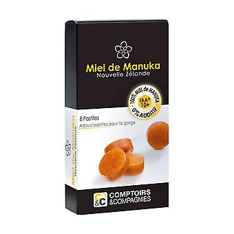 100% Manuka Honey Iaa 10+ tablets 8 units of 20g