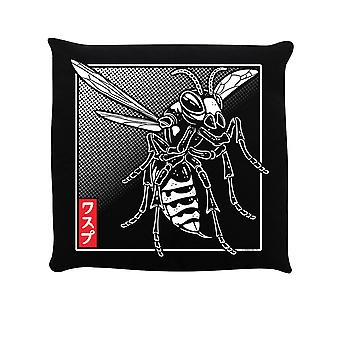 Epäsovinnainen kollektiivinen itämainen Hornet-täytetty tyyny