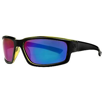 Freedom Classic Oval Sport Sunglasses - Black/Blue
