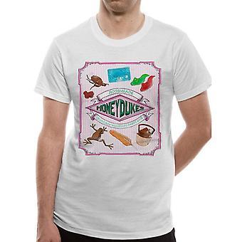Harry Potter Unisex Erwachsene Honeydukes Design T-Shirt