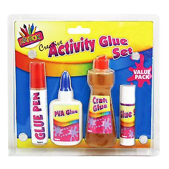 ArtBox 4 Piece Glue Set