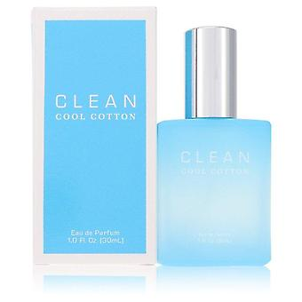 Clean Cool Cotton Eau De Parfum Spray By Clean 1 oz Eau De Parfum Spray