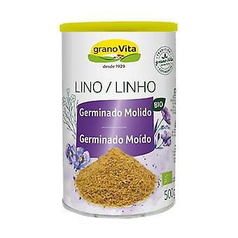 Organic Ground Germinated Flax 500 g