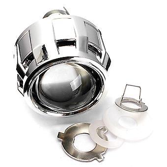 "2.5"" Hid bi-xenon projector lens shroud frontlight h1 h4 h7 high/low beam rhd right hand drive"