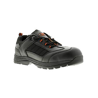 Tradesafe goliath leather Mens Safety Shoes & Trainers black UK Size