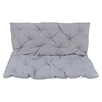 Harmaa tyyny keinutuolille 120 cm