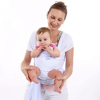 Baby Sling Stretchy Wrap Carrier Blanket, Swaddle Adjustable, Infant Cotton