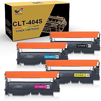 Wokex 4-Pack kompatibler CLT-K404S CLT-C404S CLT-M404S CLT-Y404S Tonerkartusche fr Samsung Xpress