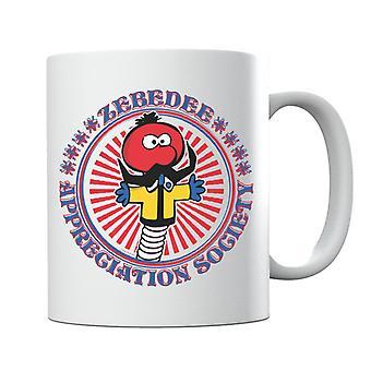 Den magiske rundkjøringen Zebedee Appreciation Society Krus