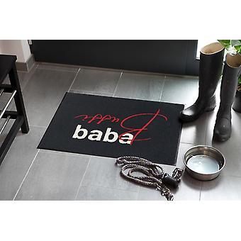 Salonloewe deurmat Bussi Baba 50 x 75 cm wasbaar