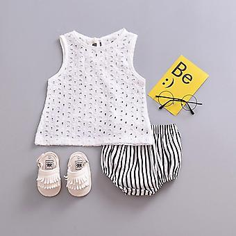 Baby Cute Lace Hollow Tops T-shirt