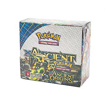 324 Bit uppsättning av barn & holografiska pokemon samlarkort, sol & måne, svärd & sköld, evolutioner booster ålder 6 +